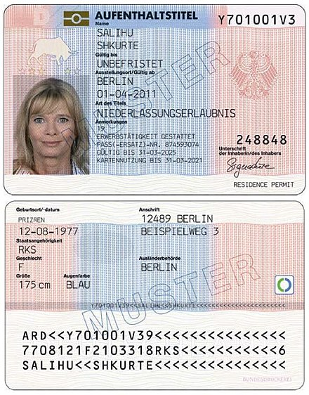 Germany ID Cards online