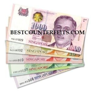 Buy Counterfeit Singapore dollar