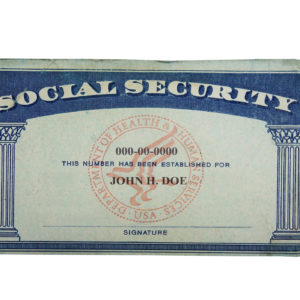 Buy New Social Security Cards-SSN