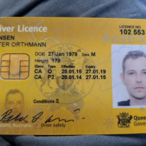 Buy Registered Australian Drivers License