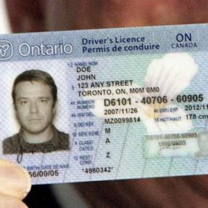 Buy Real Canadian Drivers License Online